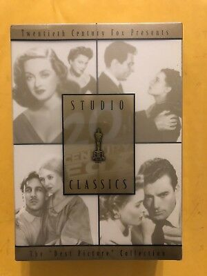 20th Century Fox Studio Classics Best Picture Collection - 4 DVDs set New Sealed