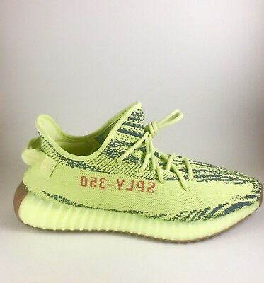 online store 20361 a74f2 ADIDAS YEEZY BOOST 350 V2 Semi Frozen Yellow B37572 Size 8.0 BRAND NEW