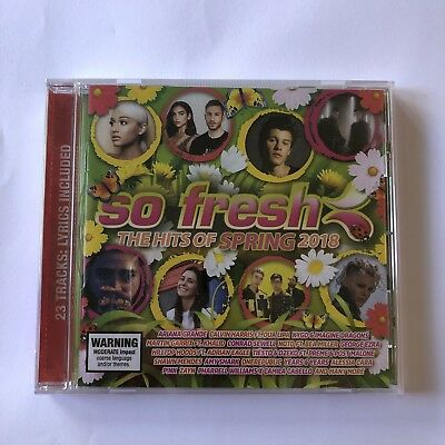 So Fresh The Hits Of Spring 2018 BRAND NEW CD Pink Post Malone BRAND NEW