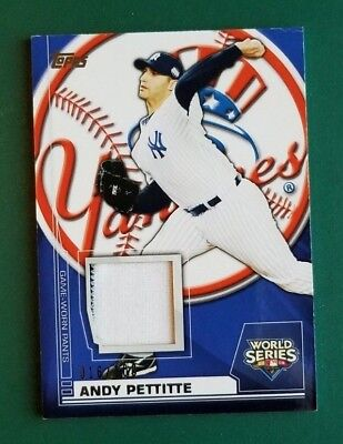 2010 Topps Andy Pettitte (Game Worn Pants World Series Champions Relic) #016/100