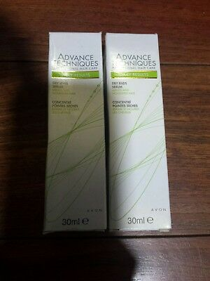 Avon Advance Techniques Daily Results dry ends serum 30ml Rare  discontinued x2