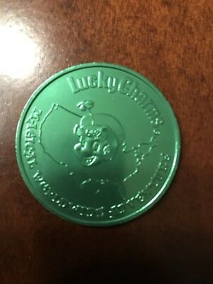 Lucky Charms Magical Worldwide Adventure Green Liberty Bell Coin - Token