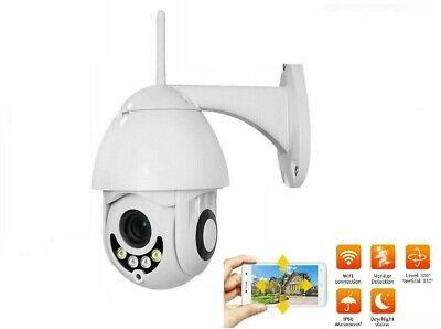 Telecamera Ptz 1080P Hd Full Color Esterna Ip Mini Camera Motorizzata Ir Wifi In