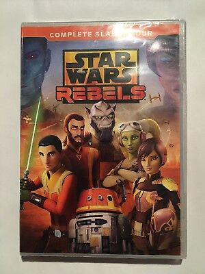 Star Wars: Rebels Complete Season 4 [New DVD]
