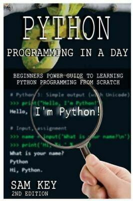 LEARN PYTHON PROGRAMMING from scratch video course- (link to