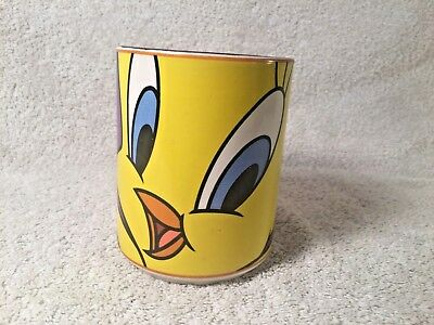 Looney Tunes Tweety Bird Oversized Ceramic Coffee Mug Gibson 1998