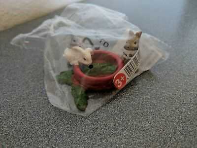 BABY RABBITS EATING Schleich Food Dish Toy bunny 13725 RETIRED Figure Farm life