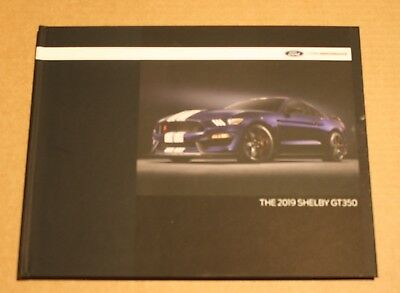 (NEW) 2019 Ford Mustang Shelby GT350 Hardcover Coffee Table Book