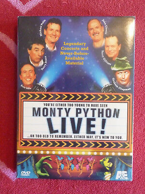 MONTY PYTHON LIVE! 2-DVD BOX SET NEW/SEALED A&E 2001 Comedy