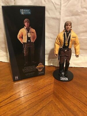Luke Skywalker Rebe Hero Yanin IV Exclusive 1/6 figure star wars Sideshow