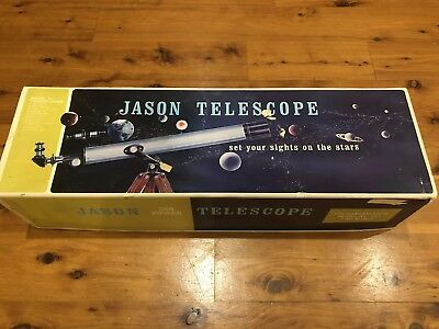 Vintage JASON 280 Power Constellation Telescope MODEL 311 In Original Booklets