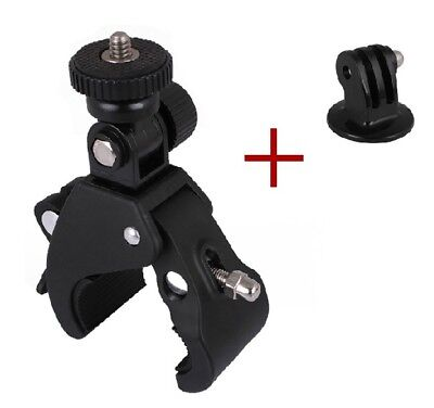 Camera Mount for gopro Magic Arm Bracket Motion Clip Bicycle Clamp hero 6/5/4/3