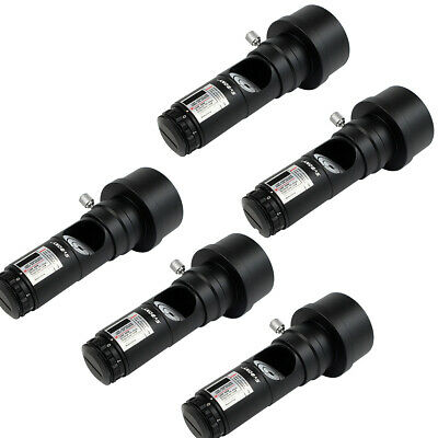 """5X SVBONY 1.25"""" Red Laser Collimator 7Bright Levels for Telescope W/ 2"""" Adapter"""