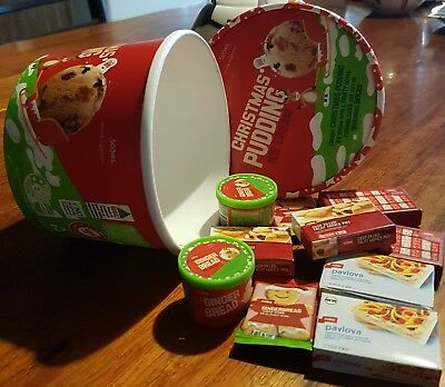Coles Little Shop Christmas Limited Edition 2 full sets of minis