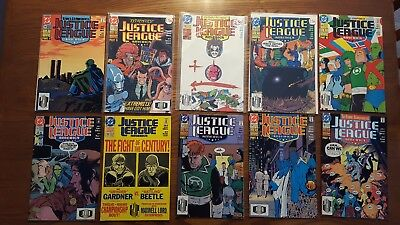 Justice League America #s 51 52 53 54 55 56 57 58 59 60 NICE RUN!