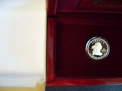 2007 W - JEFFERSON'S LIBERTY - FIRST SPOUSE GOLD - PROOF -  ONE SPOT - 2 Specks