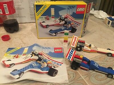 Lego Classic Town Race Set 6509 Red Devil Racer With Instruction