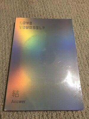 "BTS Love yourself 結'Answer' 4th Album CD  Letter ""F"""