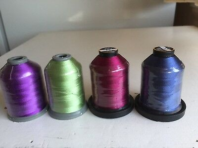 Embroidery  Machine Thread.........1000mt POLYESTER  ...Brother  /  Janome
