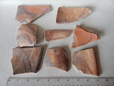 Neolithic Pottery Shards #8. Trypillian culture.