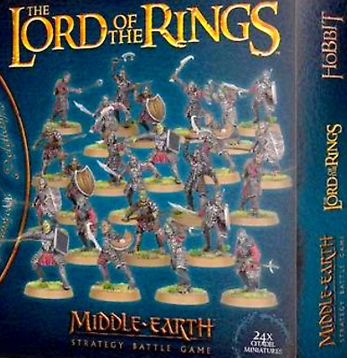 24 MORANNON ORCS=Forces of Sauron Games Workshop: Middle-Earth Strategy Battles