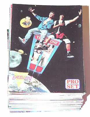 . Bill and Ted's Excellent Adventure by Proset in 1991. Complete 100 card set
