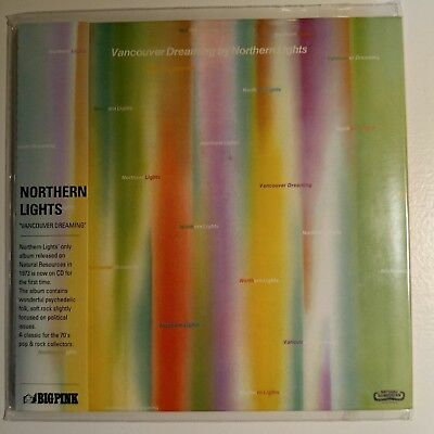 "Northern Lights  ""Vancouver Dreaming""Limited Edition.Imported.  MINI LP CD NEW"