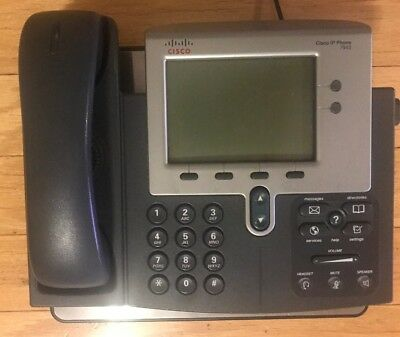CISCO 7942 UNIFIED IP Business Phone VoIP IP Telephone CP