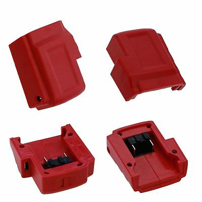 Replace USB Charger Adapter Power Source For Milwaukee 49-24-2371 M18 Battery
