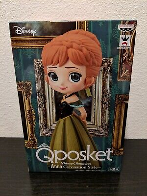 Disney Q Posket Characters Frozen Anna Figure Coronation Style Version A Normal