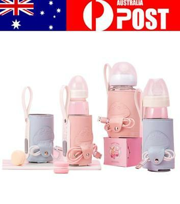 Baby Universal Constant Temperature Heating Milk Bottle Warmer Bag USB Charging