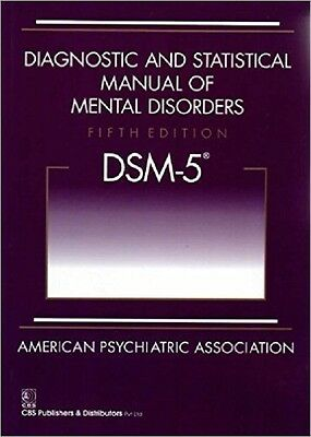 Diagnostic and Statistical Manual of Mental Disorders - DSM-5 DHL SHIP