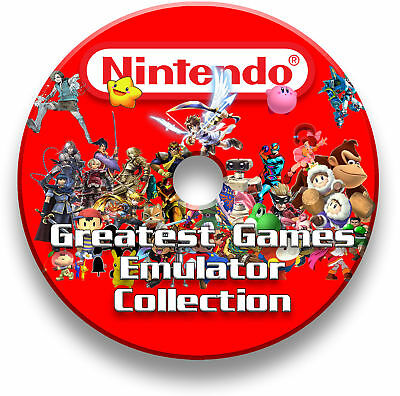 Nintendo 8500+ GIOCHI Emulatore Pc Windows Mac Linux-Gameboy Color nes sens DVD