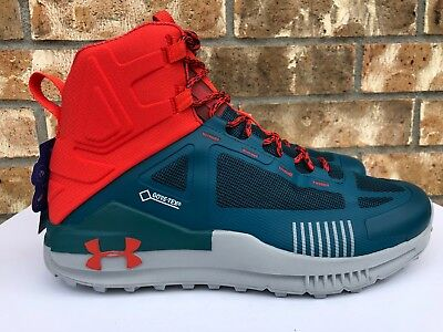 Men/'s Under Armour Verge 2.0 Mid GTX Hiking Shoes Outdoor 3000302-003 Size 10