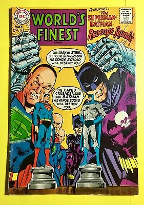 World's Finest #175 (May 1968) - DC Comics - The Superman-Batman Revenge Squads