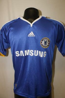 Adidas CHELSEA Youth Medium football club soccer Jersey FC SAMSUNG boys M ba663143c
