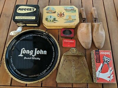 Various Vintage Tins And Other Items - Bulk Lot