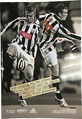 PRE-OWNED West Brom Vs Manchester United 17.12.17 Premier League Programme DS324
