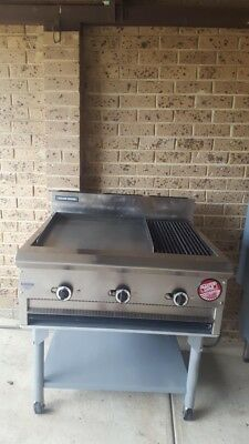 commercial hot plate / char grill