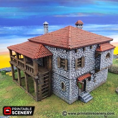 WINTERDALE THE PORT Tavern 28mm Tabletop Blood & Plunder Terrain Wargaming