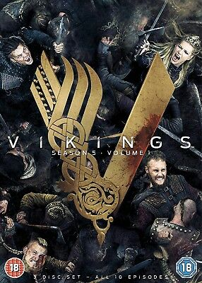 VIKINGS season 5 volume/part 1 region 2 NEW DVD Fast Dispatch