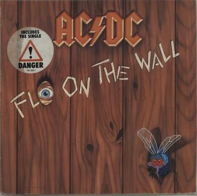 AC/DC Fly On The Wall - Hype Stickered German vinyl LP album record 781263-1