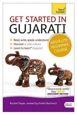 Get Started in Gujarati with Two Audio CDs : A Teach Yourself Program, Paperb...