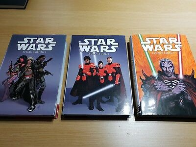Star Wars Omnibus Legacy Books 1, 2 & 3 Extremely rare Hardcover Beautiful books