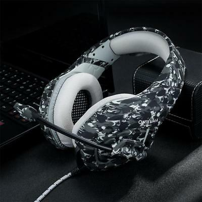 3.5mm Mic Stereo Gaming Headset Headphone for Laptop PS4 Xbox One Gifts