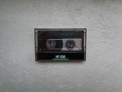Vintage Audio Cassette SONY HF-S 90 From 1988 - Fantastic Condition !!