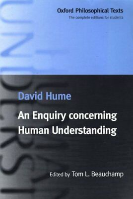 Enquiry Concerning Human Understanding, Paperback by Hume, David; Beauchamp, ...