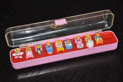 Polly Pocket Ring Collecting Box Princess Willie's stunt plane Dressing-Up Time