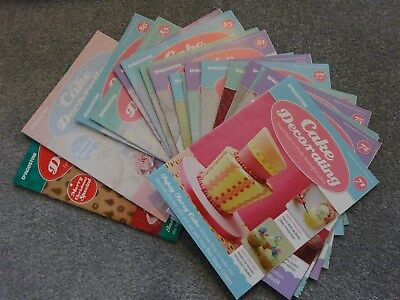 Deagostini 'Cake Decorating' magazines bundle
