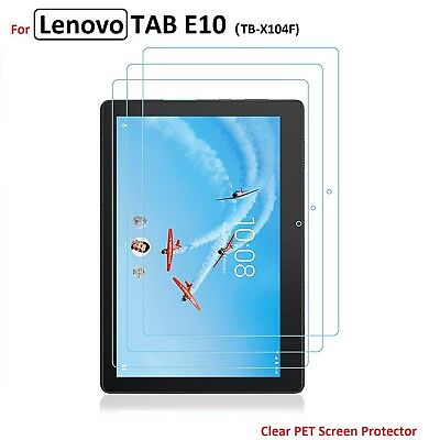3 x Clear Flim Screen Protector for Lenovo TAB E10 TB-X104 10 inch 2018 Release